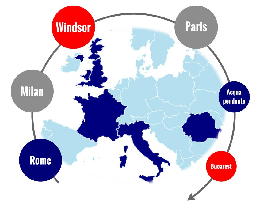 SAFO's European Offices